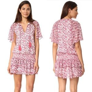 Rebecca Minkoff Pebble Floral Drop-Waist Dress
